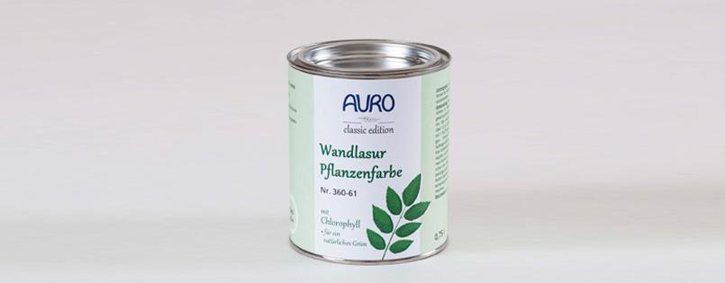 wandlasur pflanzenfarbe blattgr n. Black Bedroom Furniture Sets. Home Design Ideas
